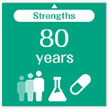 Strengths 80 years